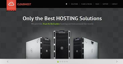 پوسته میزبانی وردپرس CloudHost
