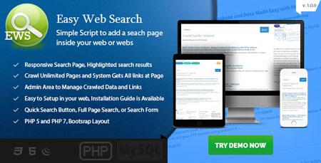 اسکریپت موتور جستجوی شخصی Easy Web Search