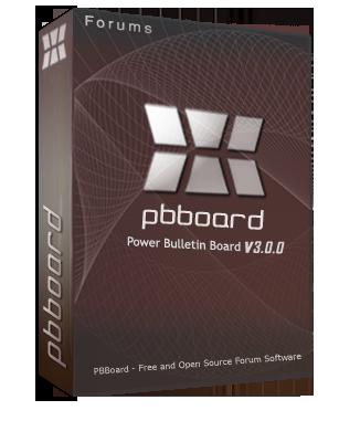 PBBoard v3.0.0 انجمن ساز PBBoard نسخه 3.0.0 فارسی