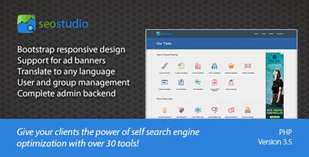 راه اندازی وب سایت ابزار وبمستر و سئو SEO Studio نسخه 3.5