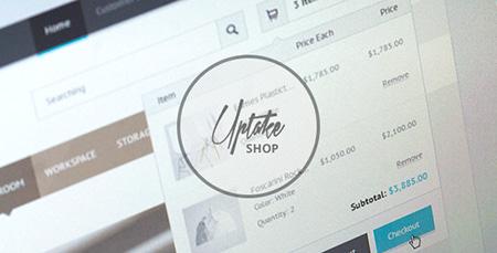 قالب فروشگاهی Uptake به صورت HTML