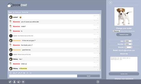 اسکریپت ایجاد چت روم Boomchat نسخه 3.0.1