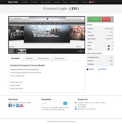 ایجاد سایت های خرید و فروش محصولات دیجیتالی با Buy & Sell