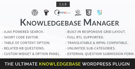 افزونه پایگاه دانش وردپرس BWL Knowledge Base Manager نسخه ۱٫۱٫۹