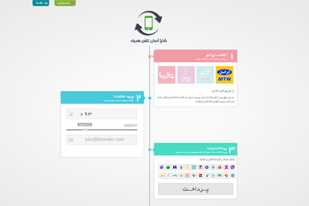 راه اندازی فروشگاه کارت شارژ با شارژ ریسلر نسخه 3.0