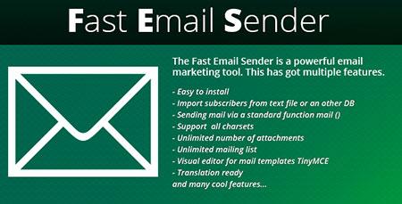 اسکریپت خبرنامه و ارسال ایمیل گروهی Fast Email Sender