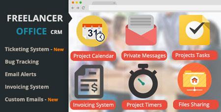 اسکریپت ارتباط با مشتری و مدیریت پروژه Freelancer Office نسخه 1.6
