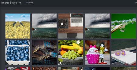 اسکریپت آپلود عکس و اشتراک گذاری تصاویر imgshare