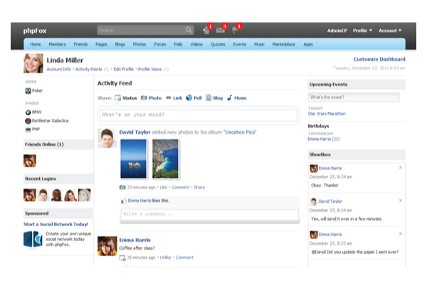 php fox 3.2 با PHP FOX نسخه 3.2 سایتی شبیه فیسبوک راه اندازی کنید!