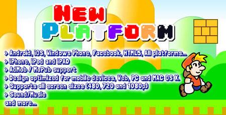 اسکریپت بازی آنلاین سوپرماریو(قارچ خور) HTML5 و اندروید