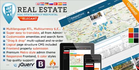 real estate script راه اندازی آژانس املاک با Real Estate Agency Portal