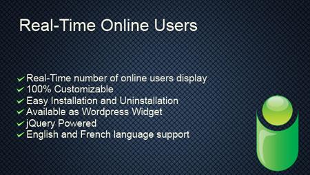 افزونه نمایش کاربران آنلاین در وردپرس Real-Time Online Users