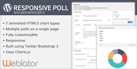 ایجاد نظر سنجی در وردپرس با افزونه Responsive Poll