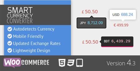 افزونه فارسی مبدل واحد پولی ووکامرس Smart Currency Converter نسخه ۴٫۴٫۱