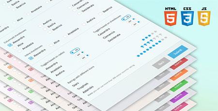 ساخت فرم های زیبا و CSS3 با اسکریپت Sky Forms