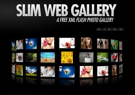 گالری تصاویر فلش و سه بعدی 3D Flash XML Photo Gallery