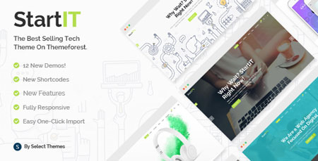 پوسته شرکتی و استارت آپ وردپرس Startit نسخه ۲٫۲