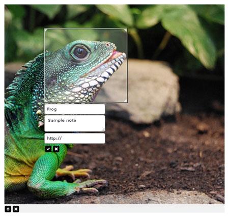 با jQuery-Notes به تصاویر خود برچسب بزنید