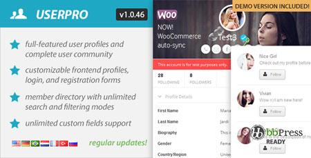 نمایش و مدیریت پروفایل کاربران در وردپرس با افزونه UserPro