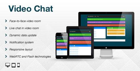 اسکریپت چت و گفتگوی آنلاین ویدئویی Video Chat