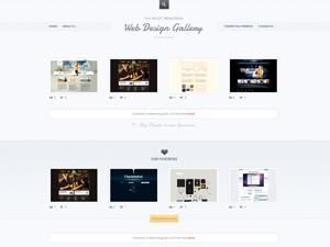 قالب زیبای وردپرس Web Design Showcase