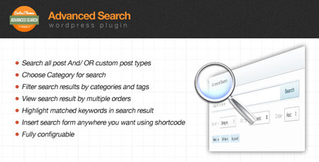 افزونه جستجوی پیشرفته در وردپرس Advanced Search Form