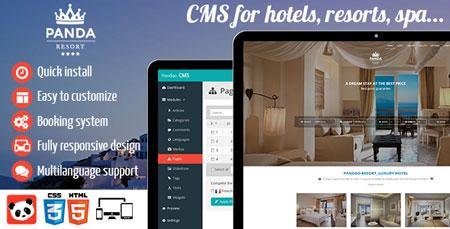 اسکریپت مدیریت و رزرواسیون هتل Panda Resort نسخه 4.5.1