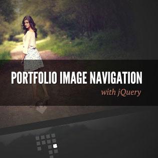 ایجاد گالری عکس زیبای جی کوئری با Portfolio Image Navigation
