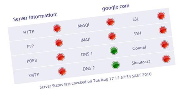 با Server Monitor Status وضعیت سرور خود را بررسی کنید