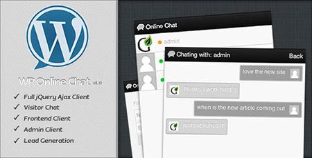 افزونه چت و گفتگوی  WP Online Chat وردپرس