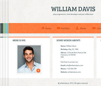 http://dl.persianscript.ir/img/William-Davis-vCard.jpg