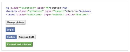 دانلود دکمه های CSS3 فیسبوک