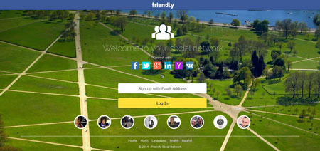 اسکریپت راه اندازی شبکه اجتماعی Friendly Social Network نسخه 1.5.1