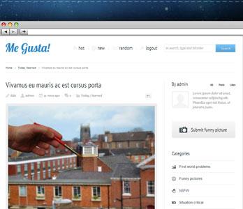 راه اندازی سایت اشتراک گذاری مطالب با پوسته وردپرس Me Gusta