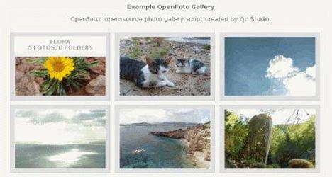 اسکریپت گالری تصاویر GMfoto بدون نیاز به دیتابیس