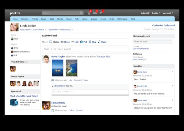 با PHP FOX نسخه 3.2 سایتی شبیه فیسبوک راه اندازی کنید!