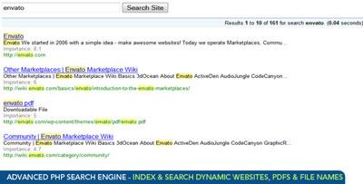 اسکریپت موتور جستجوی PHP