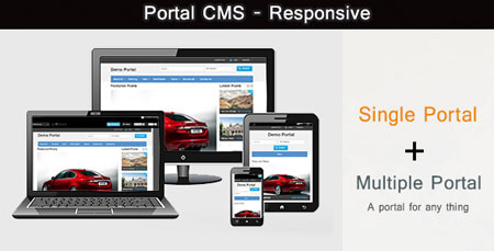 اسکریپت مدیریت محتوای Portal CMS