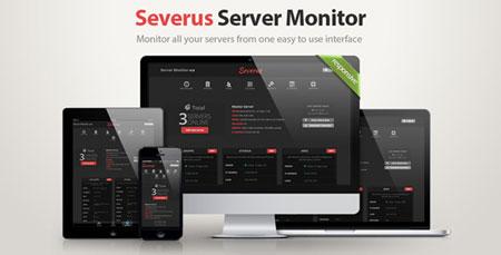 اسکریپت بررسی وضعیت سرور ها Severus Server Monitor