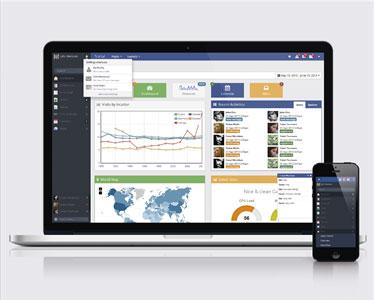 قالب پنل مدیریت سایت Social به صورت HTML5 و CSS3