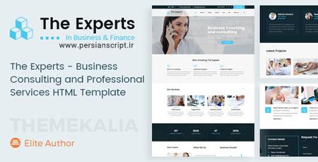 http://dl.persianscript.ir/img/the-experts-html.jpg