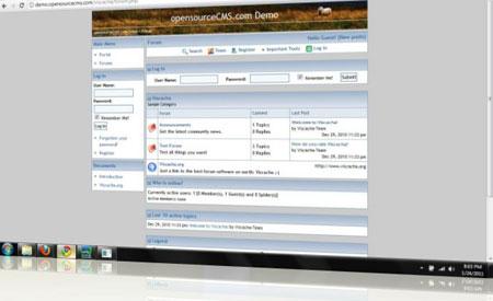 سیستم مدیریت انجمن Viscacha
