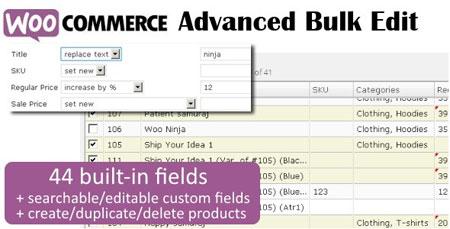 ویرایش گروهی محصولات ووکامرس با افزونه Advanced Bulk Edit نسخه 3.5