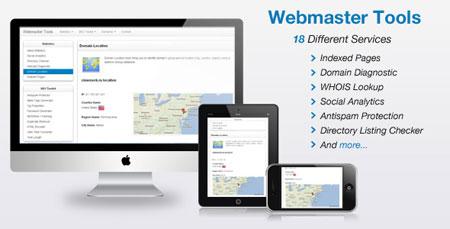اسکریپت ابزار وبمستر Codecanyon Webmaster Tools نسخه 1.8