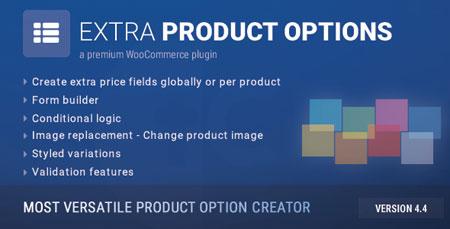افزونه ساخت گزینه های دلخواه ووکامرس WooCommerce Extra Product Options نسخه 4.9.11