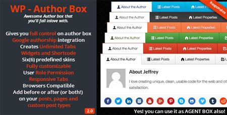 افزونه نمایش اطلاعات نویسنده مطلب وردپرس WP – Author Box